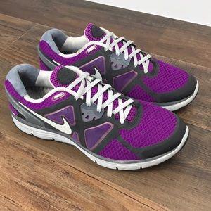 "Nike ID ""Run Fast"" Lunarlon Running Shoes Size 10N"